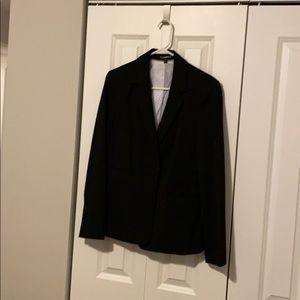 Express ladies suit jacket black size 10